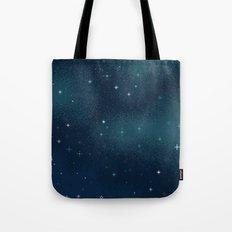 Pixel Marine Starlight Galaxy Tote Bag