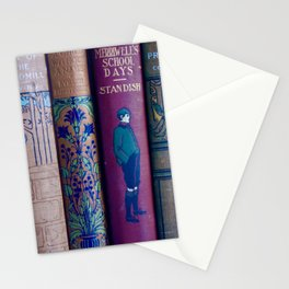 Lovely Antique Book Spines Stationery Cards