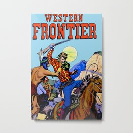 Western I Metal Print