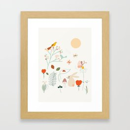 Meadow Blossom Framed Art Print