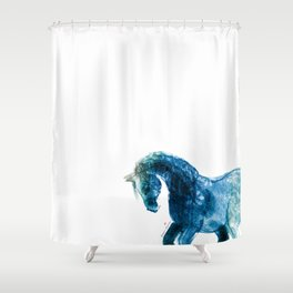 Horse (Meadow 2) Shower Curtain