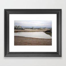 Mud Castles Framed Art Print