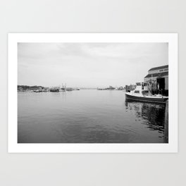 Fish dock Art Print