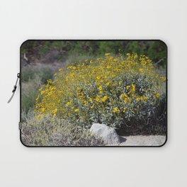 Brittle Bush At ... Wildlife Preserve Laptop Sleeve
