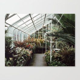 Volunteer Park Conservatory A-Side Canvas Print