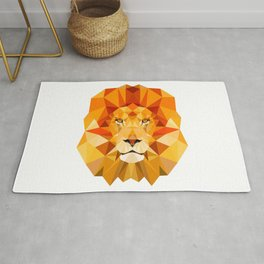Lion, The King of the Jungle Rug