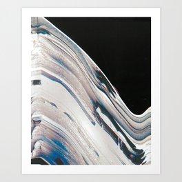 Space Time Blur Art Print