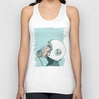 pilot Tank Tops featuring Pilot by Jason Ratliff