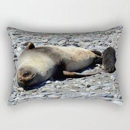 Mother Fur Seal and Pup Rectangular Pillow