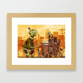 Phishballs Framed Art Print