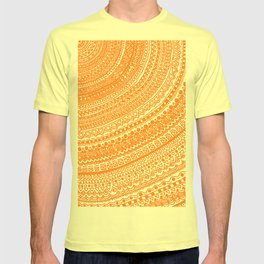 Orange Pulse o3. T-shirt