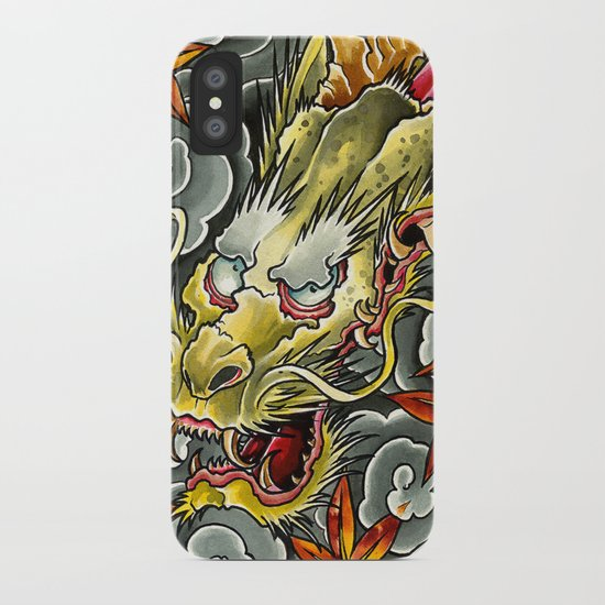 Japanese Dragon1 iPhone Case
