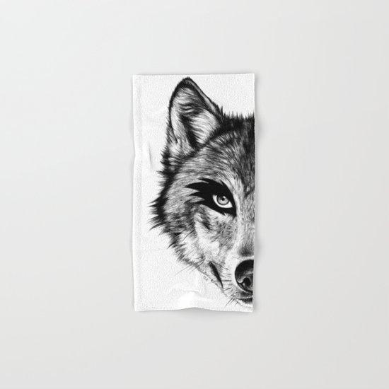The Wolf Next Door Hand & Bath Towel