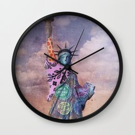 Famous Statues Series #1 Wall Clock