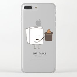 Dirty tricks Clear iPhone Case