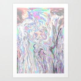 Iridiscent Art Print