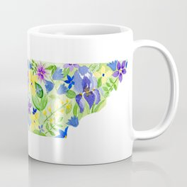 Old Rocky Top Tennessee - Painted States Series Coffee Mug