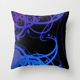 .:Energy Flow:. Throw Pillow