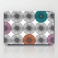 scandinavian iPad Cases featuring Scandinavian Abstract Floral by She's That Wallflower