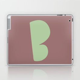 Hand-Lettered B Art Print Laptop & iPad Skin
