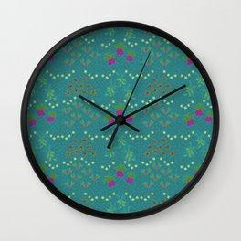 garden patch Wall Clock