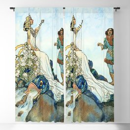 Czech and Slovak Fairy Tales by Artus Schneider Blackout Curtain