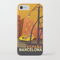 barcelona iPhone & iPod Cases featuring Barcelona by Shirong Gao