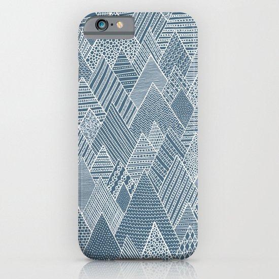Mountain Pattern iPhone & iPod Case