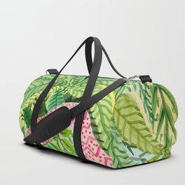 Leaves, Jungle, Snake Duffle Bag