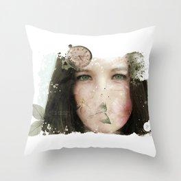 Tu tiempo, tú - Your time, you Throw Pillow
