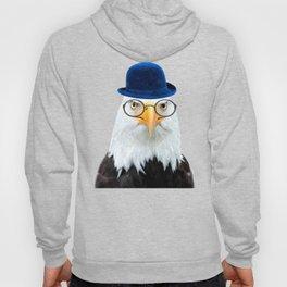 Funny Eagle Portrait Hoody
