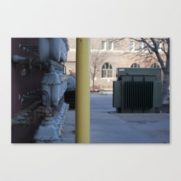 don't hate; segregate Canvas Print