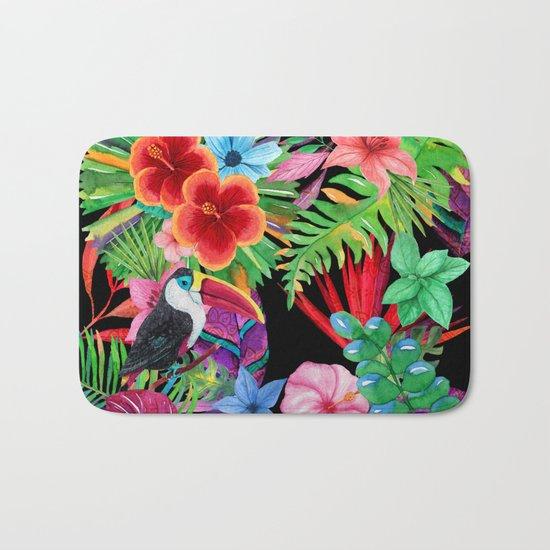hawaiian beauty Bath Mat