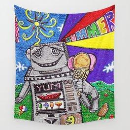Summer Yum Wall Tapestry