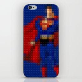 Man of Steel - Toy Building Bricks iPhone Skin