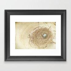 Petit Nest Framed Art Print