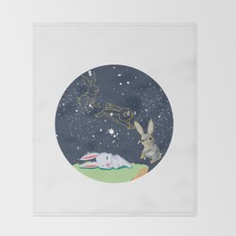 Bunny Throw Blanket