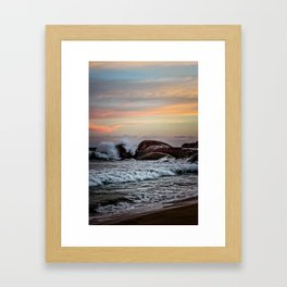 Sri Lankan Sunset Framed Art Print