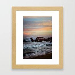 Sri Lankan Sunset Framed Art Print