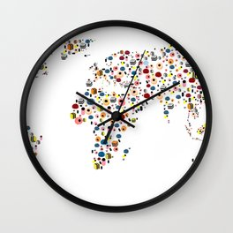It takes ALLSORTS to make a world Wall Clock