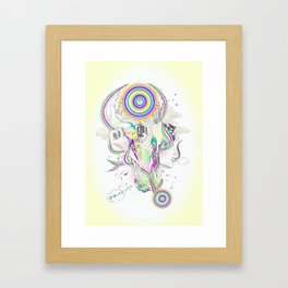 grab it ! Framed Art Print