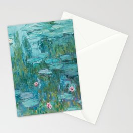 Monet - Water Lilies Stationery Cards