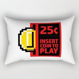 Insert coin to play Rectangular Pillow