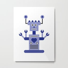 a humanoid 2 Metal Print