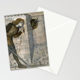 """Edward Burne-Jones """"Theseus and the Minotaur in the Labyrinth"""" Stationery Cards"""