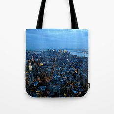The City That Never Sleeps - NYC Tote Bag