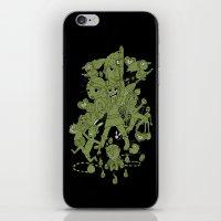 scott pilgrim iPhone & iPod Skins featuring Hylian Pilgrim by SBTee's
