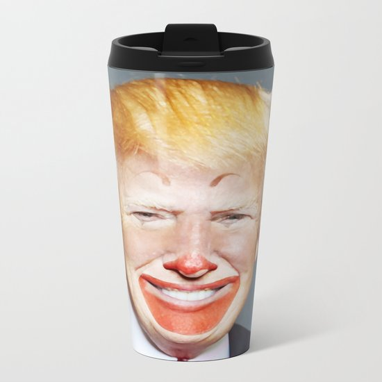 McDonald Trump Metal Travel Mug