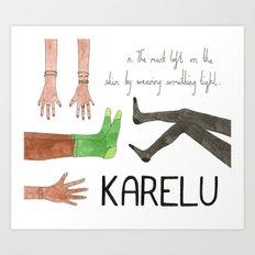 Karelu Art Print