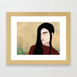 Portrait MVC NYC Framed Art Print
